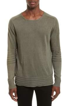 Belstaff Exford Linen Crewneck Sweater