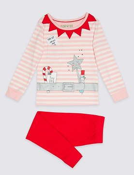 Marks and Spencer Pyjamas with Stretch (9 Months - 8 Years)