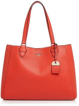 Kate Spade Carter Street Leather Tyler Tote - PICNIC RED/GOLD - STYLE