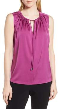 BOSS Ismarea Stretch Silk Top