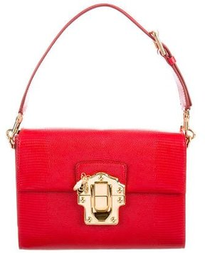 Dolce & Gabbana Medium Lucia Shoulder Bag - RED - STYLE