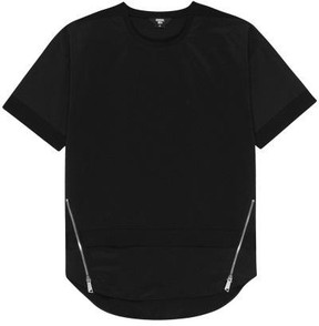 General Idea G7d05052 Zipper T Shirt Black