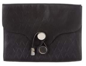 Proenza Schouler Embossed Leather Clutch