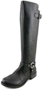 G by Guess Hellia Round Toe Synthetic Knee High Boot