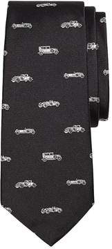 Brooks Brothers Novelty Vintage Car Silk Tie