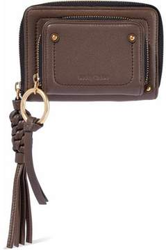 See by Chloe Textured-Leather Wallet