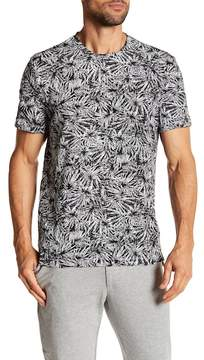 Kenneth Cole New York Floral Printed Crew Neck Tee