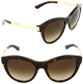 Dolce & Gabbana Women's DG4243 4243 502/13 Havana/Gold Sunglasses 53mm