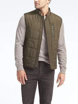 Banana Republic Water-Resistant Quilted Vest