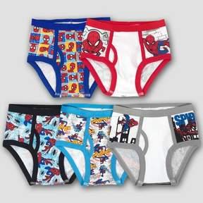 Spiderman Boys' 5-Pack Assorted Briefs Underwear