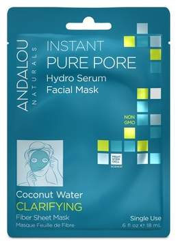 Andalou Naturals Clear Skin Hydro Serum Facial Mask - Coconut Water - 0.6 oz