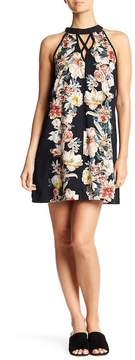 Band of Gypsies Vintage Floral Cross Front Dress