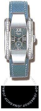 Chopard La Strada Diamond Steel Blue Ladies Watch