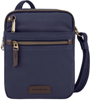 Travelon Anti-Theft Courier Small Slim Bag