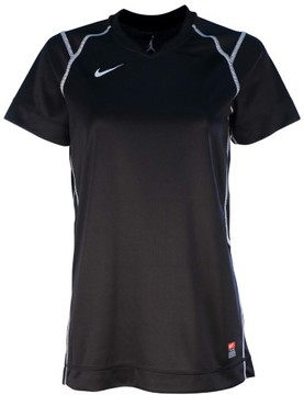 Nike Big Girls (7-16) Brasilia II Soccer Jersey-Black-Small