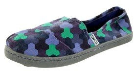 Toms Kids Classic Geometric Casual Shoe.