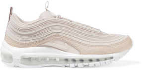 Nike - Air Max 97 Paneled Leather And Coated Mesh Sneakers - Blush