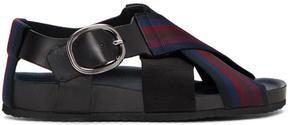 Paul Smith Multicolor Dark Striped Ray Sandals