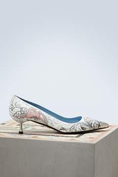 Prada Small heels pumps