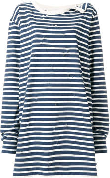 Faith Connexion striped T-shirt dress