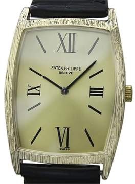 Patek Philippe 18K Yellow Gold Vintage 27mm Mens Watch