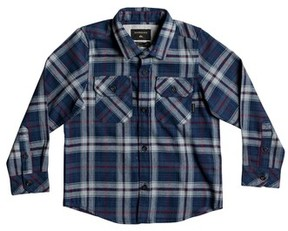 Quiksilver Toddler Boy's Fitzspeere Plaid Flannel Shirt