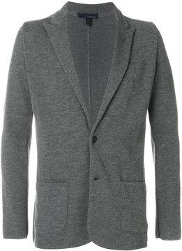 Lardini casual fitted blazer