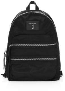 Marc Jacobs Zip-Accented Nylon Backpack - MIDNIGHT BLUE - STYLE