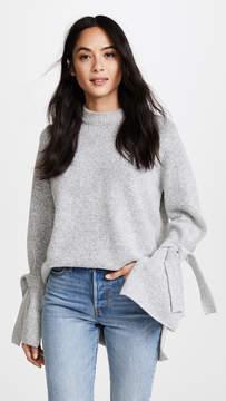 J.o.a. Tie Sleeve Sweater