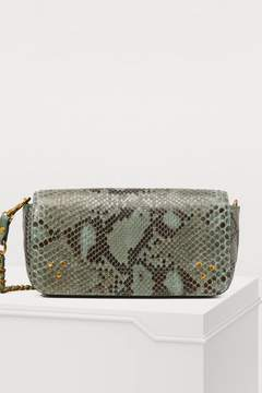 Jerome Dreyfuss Bob python crossbody bag