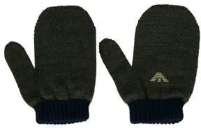 Emporio Armani Kids logo mittens