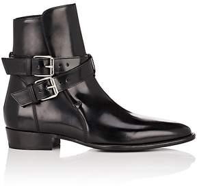 Amiri Men's Spazzolato Leather Jodhpur Ankle Boots