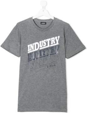 Diesel Industry print T-shirt