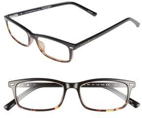 Women's Kate Spade New York Jodie 50Mm Rectangular Reading Glasses - Black Havana