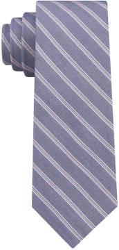 DKNY Men's Multi Twill Stripe Slim Tie