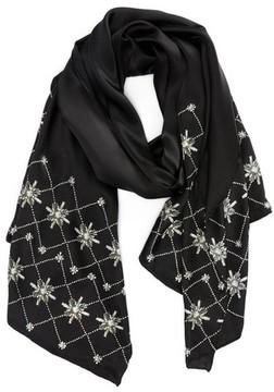 Ted Baker Women's Hot Fix Embellished Skinny Silk Scarf