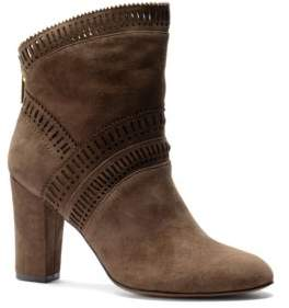 Isola Evoda Lasercut Suede Ankle Boots