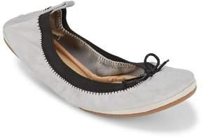 Yosi Samra Women's Dress Foldable Leather Flats