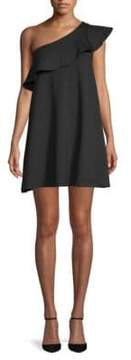 Susana Monaco Arwen One-Shoulder Shift Dress