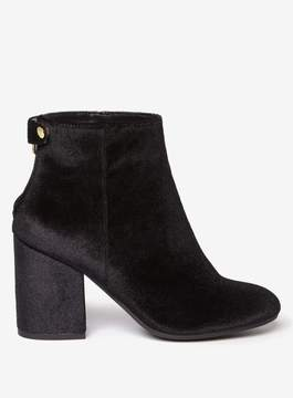 Dorothy Perkins Wide Fit Black 'Mariah' Ankle Boots
