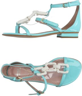 Moschino Cheap & Chic MOSCHINO CHEAP AND CHIC Toe strap sandals