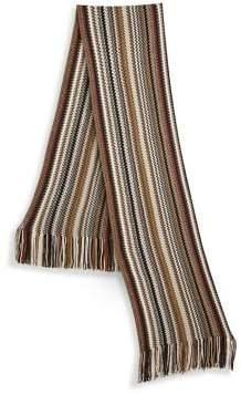 Saks Fifth Avenue MODERN Textured Stripe Scarf