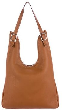 Hermes Clemence Massai PM - BROWN - STYLE