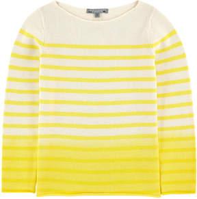 Bonpoint Tie Dye sweater with stripes