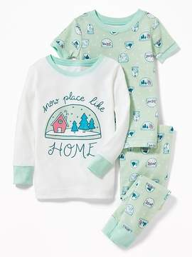 Old Navy Snow Place Like Home 3-Piece Sleep Set for Toddler & Baby