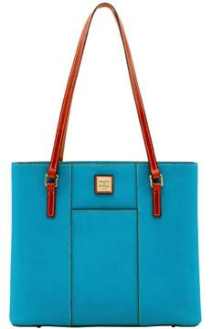 Dooney & Bourke Pebble Grain Lexington Shopper Tote - TURQUOISE - STYLE