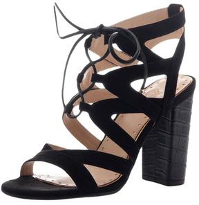 Madeline Brunette Tie Up Sandal