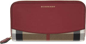 Burberry House check wallet - RUSSET RED - STYLE