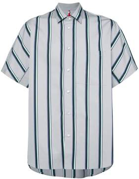 Oamc short-sleeve striped shirt