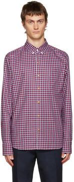 Moncler Gamme Bleu Multicolor Check Shirt